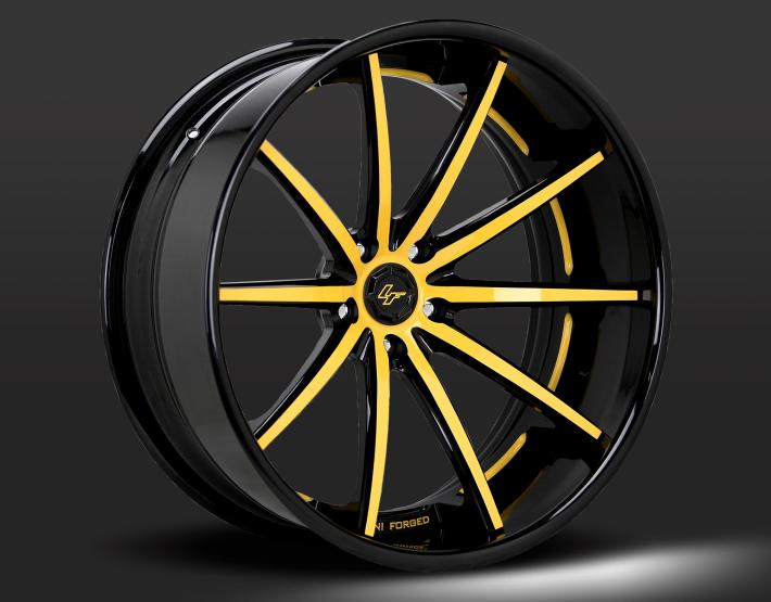 Custom - yellow and black finish.