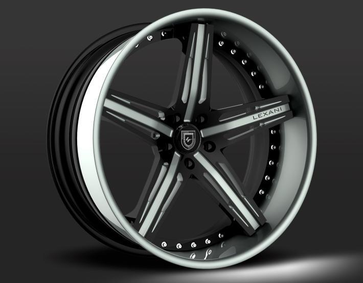 Custom - black and grey finish.