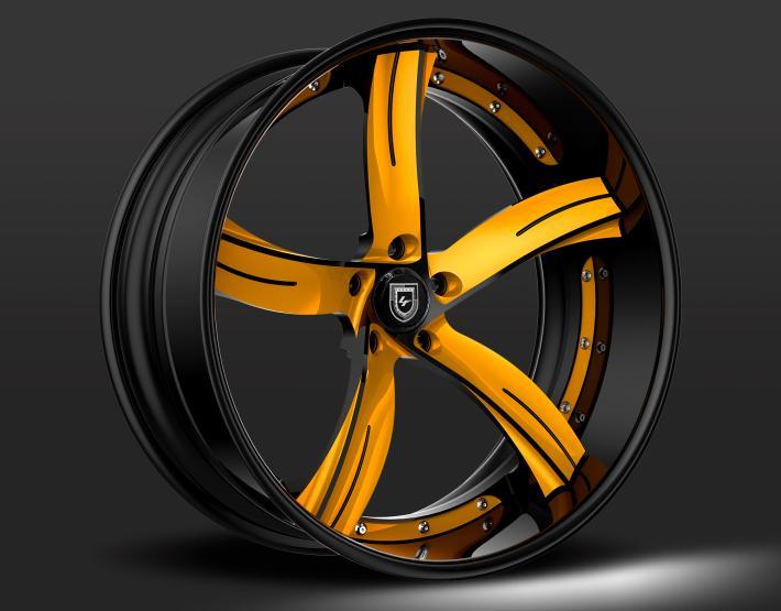 Custom - Black and Yellow finish.