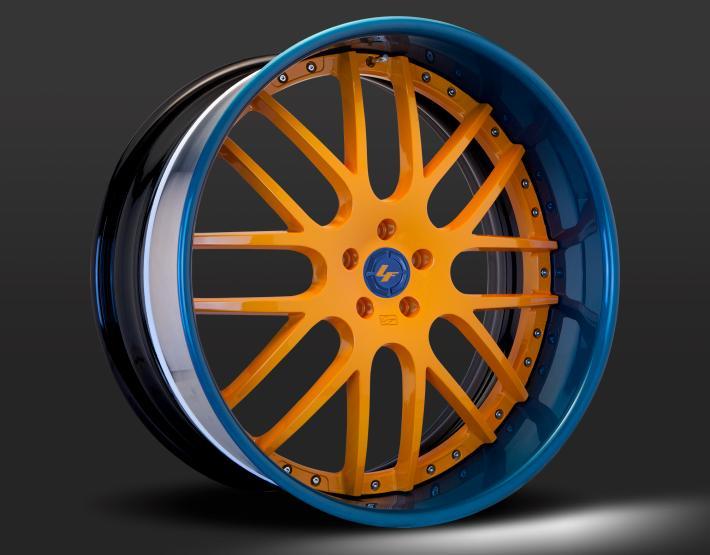 Custom - Blue and Orange