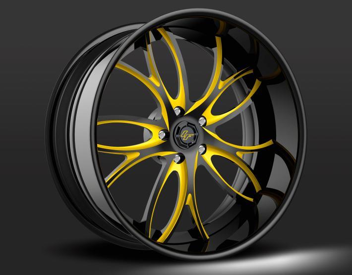 Custom - Yellow and Black finish.