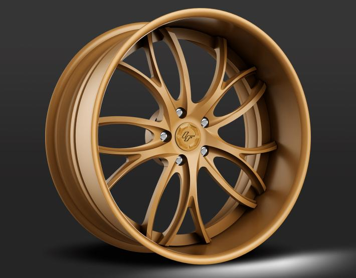 Custom - Full Flat Bronze.