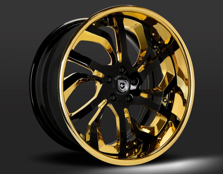 Custom - Gold and Gloss Black