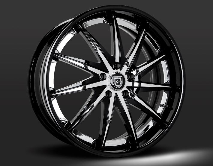 Custom - Gloss Black and Chrome