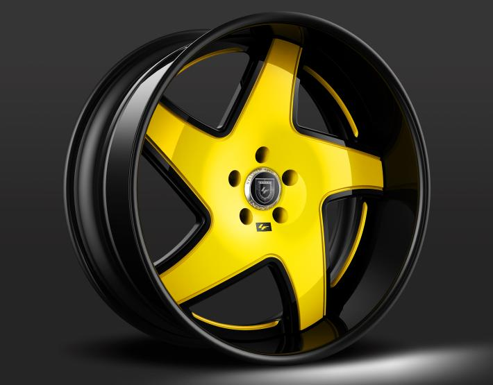 Custom - Yellow and Black