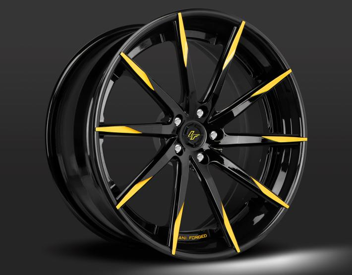 Optional Gloss black with yellow tips.