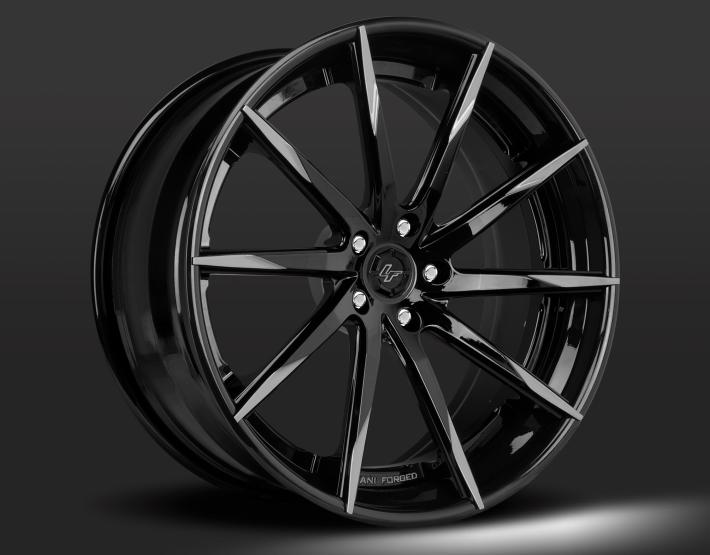 Custom - Grey and Black finish.