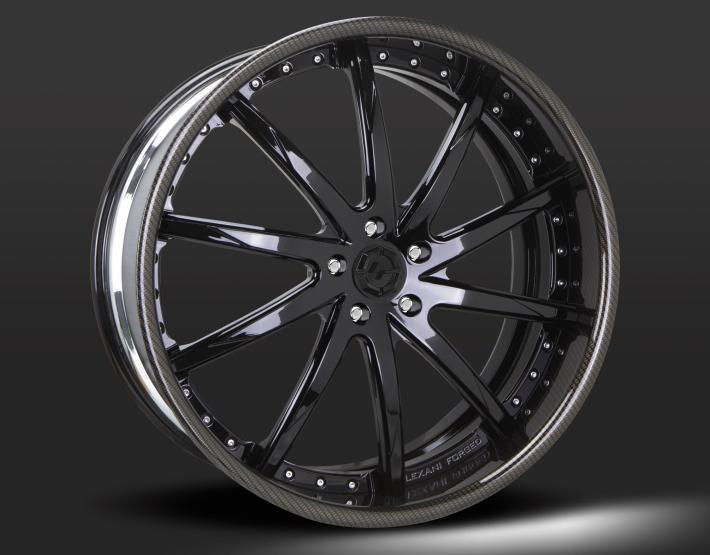 Custom - Carbon Fiber and Black finish.