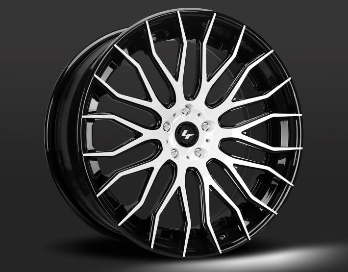 Custom - white and black finish.