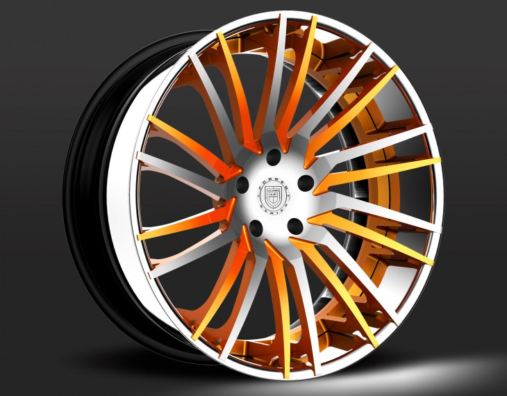 Chrome and Orange