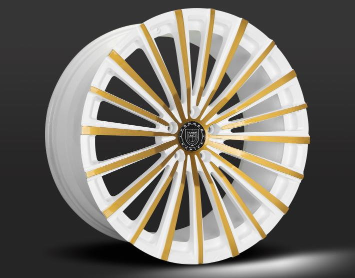Custom - White with Gold Accents