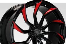 Lexani M-753 with custom finish featuring: