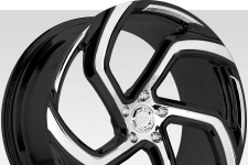 Lexani M-761 with custom finish featuring: