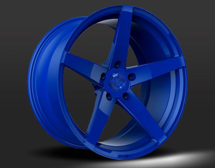 Custom - Euro Blue Finish
