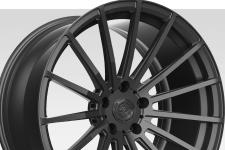 Lexani M-008 with custom finish featuring: