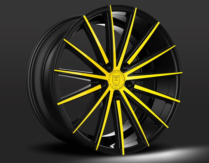 Custom - Black and Yellow Finish