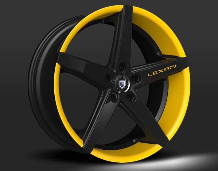 Custom - Yellow and Black Finish