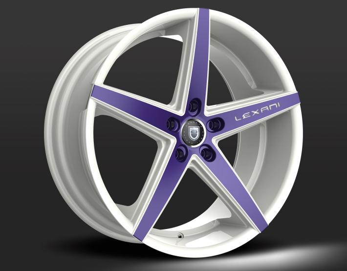 Custom - Purple and White Finish