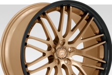 Lexani R-Twenty with custom finish featuring:
