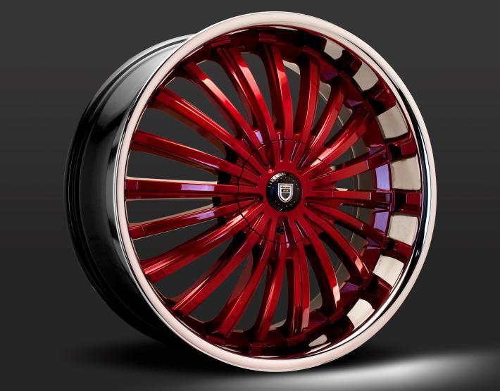 Custom - Red and Chrome Finish