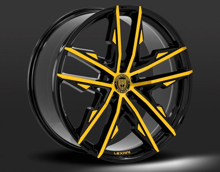 Custom black and yellow