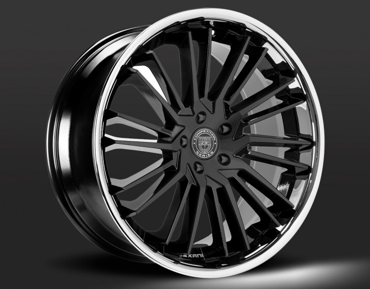 FBS - Gloss black with chrome
