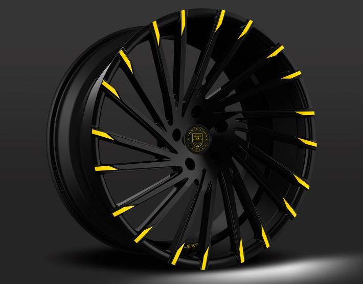 Custom - Black with Yellow Tips