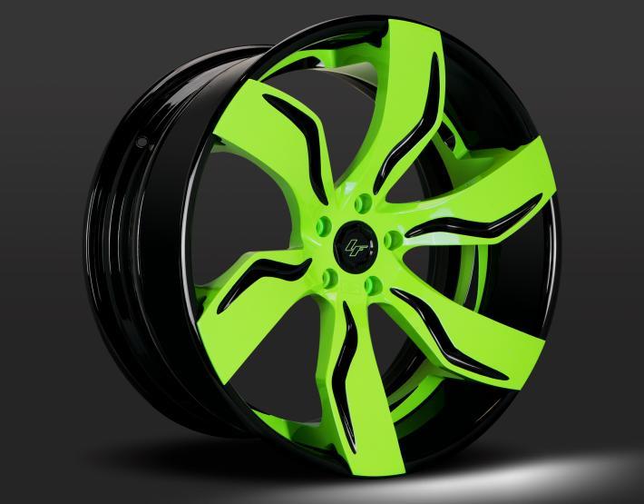 Custom - Gloss Black and Green