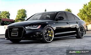Audi A6 on R-Twelve