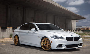 BMW 550i on CSS-8 Custom Finish