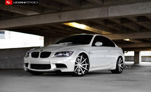 BMW E92 with brushed/black LZ-101