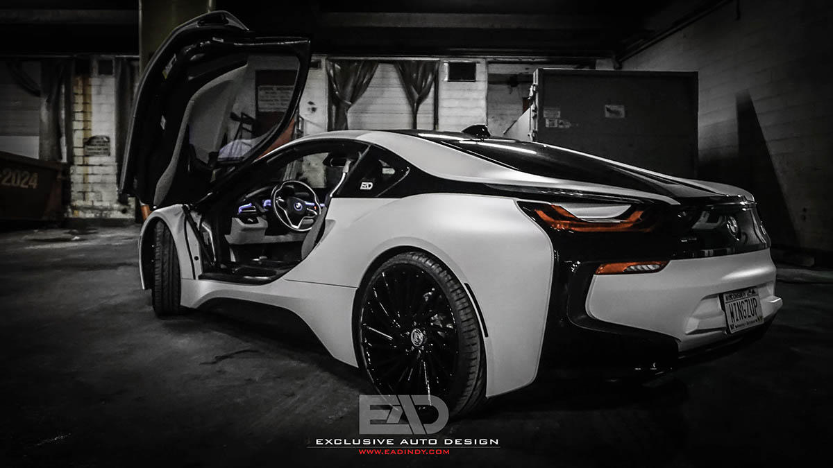 BMW i8 on 22