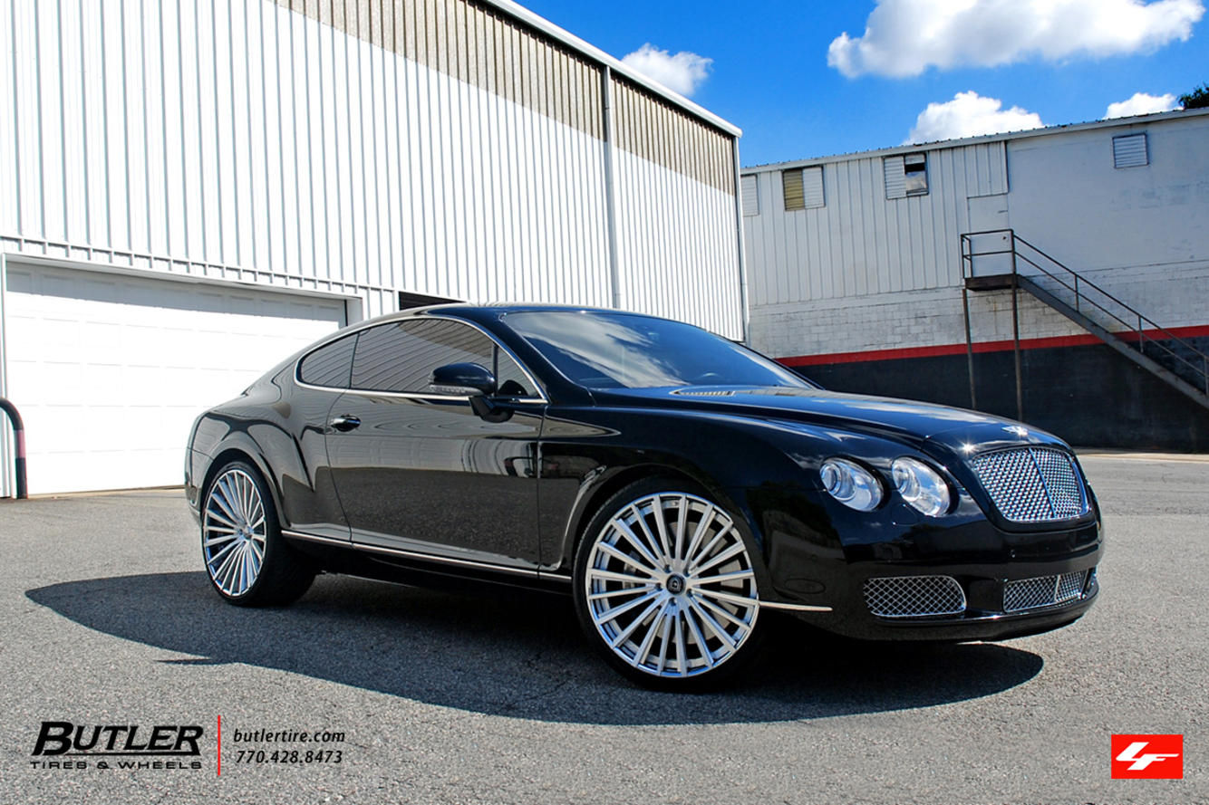 Bentley Continental Coupe on LZ-722
