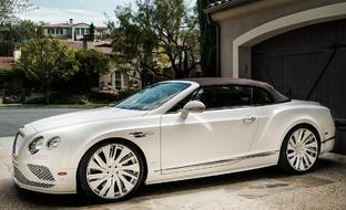 Bentley Continental GT on LZ-766 Custom Finish