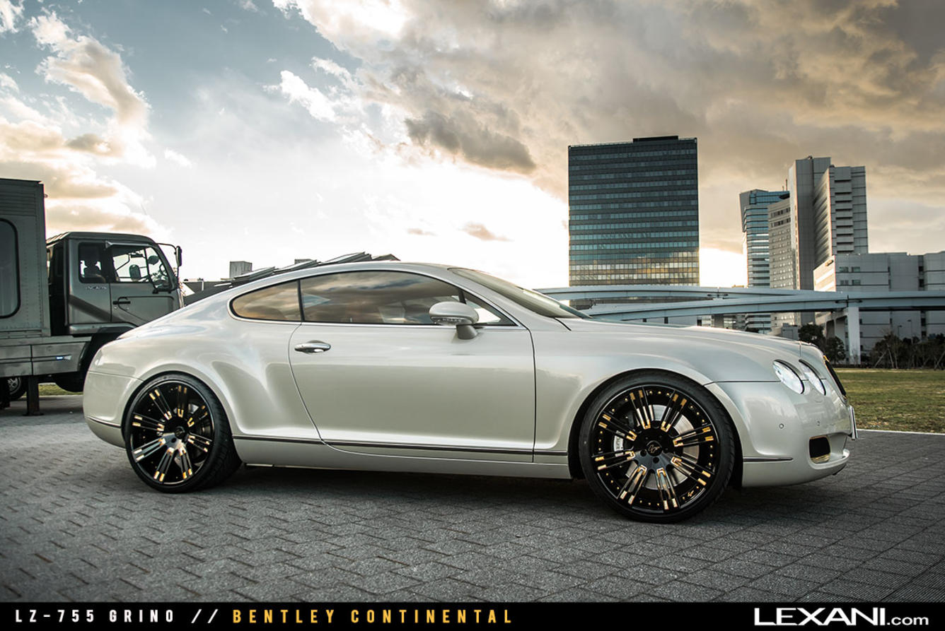 Bentley Continental on LZ-755 Grino