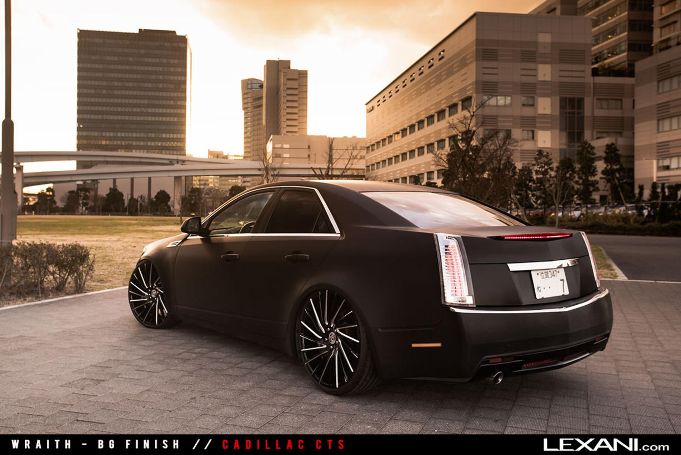 Cadillac CTS on Wraith