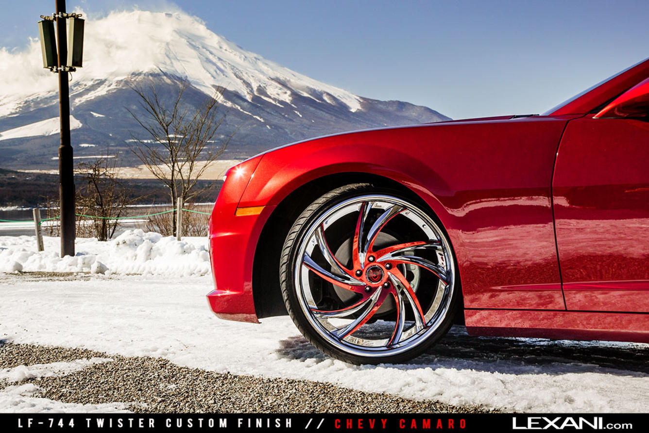 Chevy Camaro on LF-744 Twister