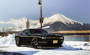 Dodge Challenger on Cyclone