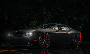 Dodge Challenger SRT8 on LC-102