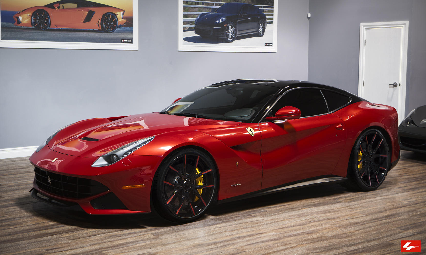 Custom LZ-102 on Ferrari F12