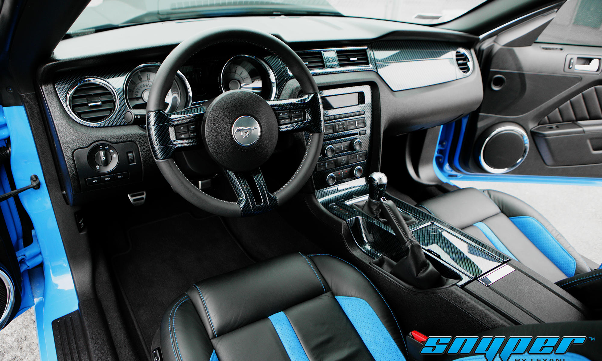 Ford Mustang, Snyper by Lexani
