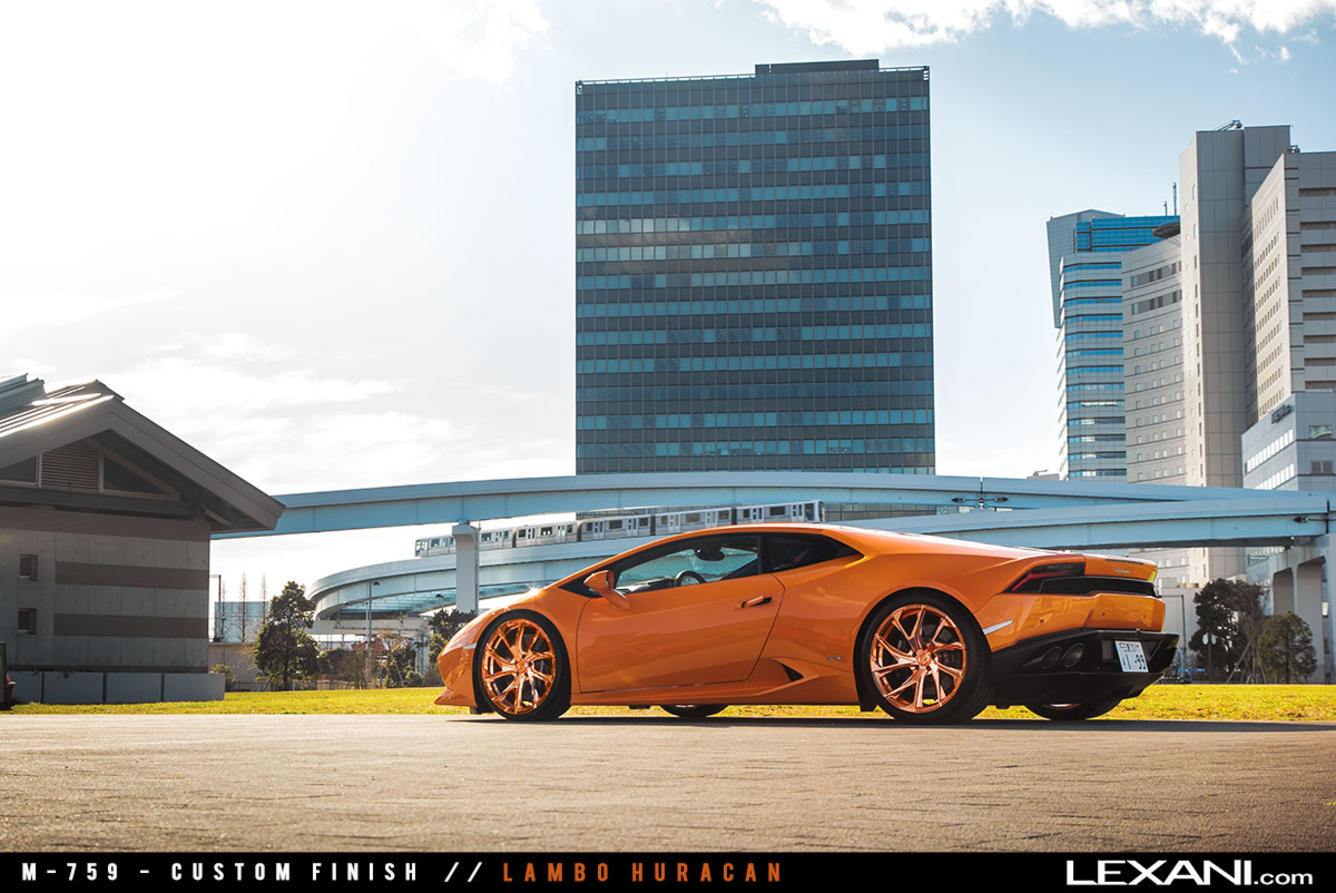 Lamborghini Huracan on M-759
