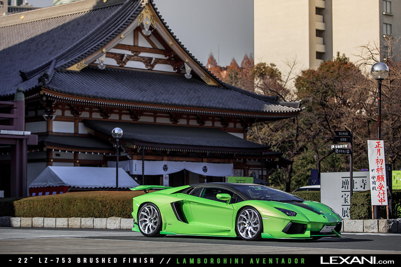 Lamborghini Aventador on LZ-753