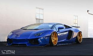 Lamborghini Liberty Walk Aventador on LS-110