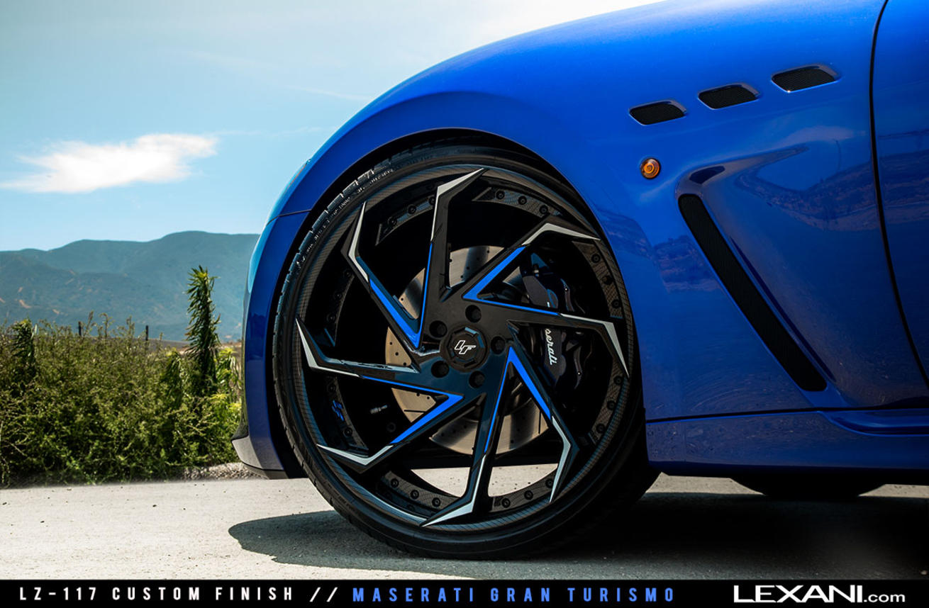 Maserati Gran Turismo MC on LZ-117 Custom Finish