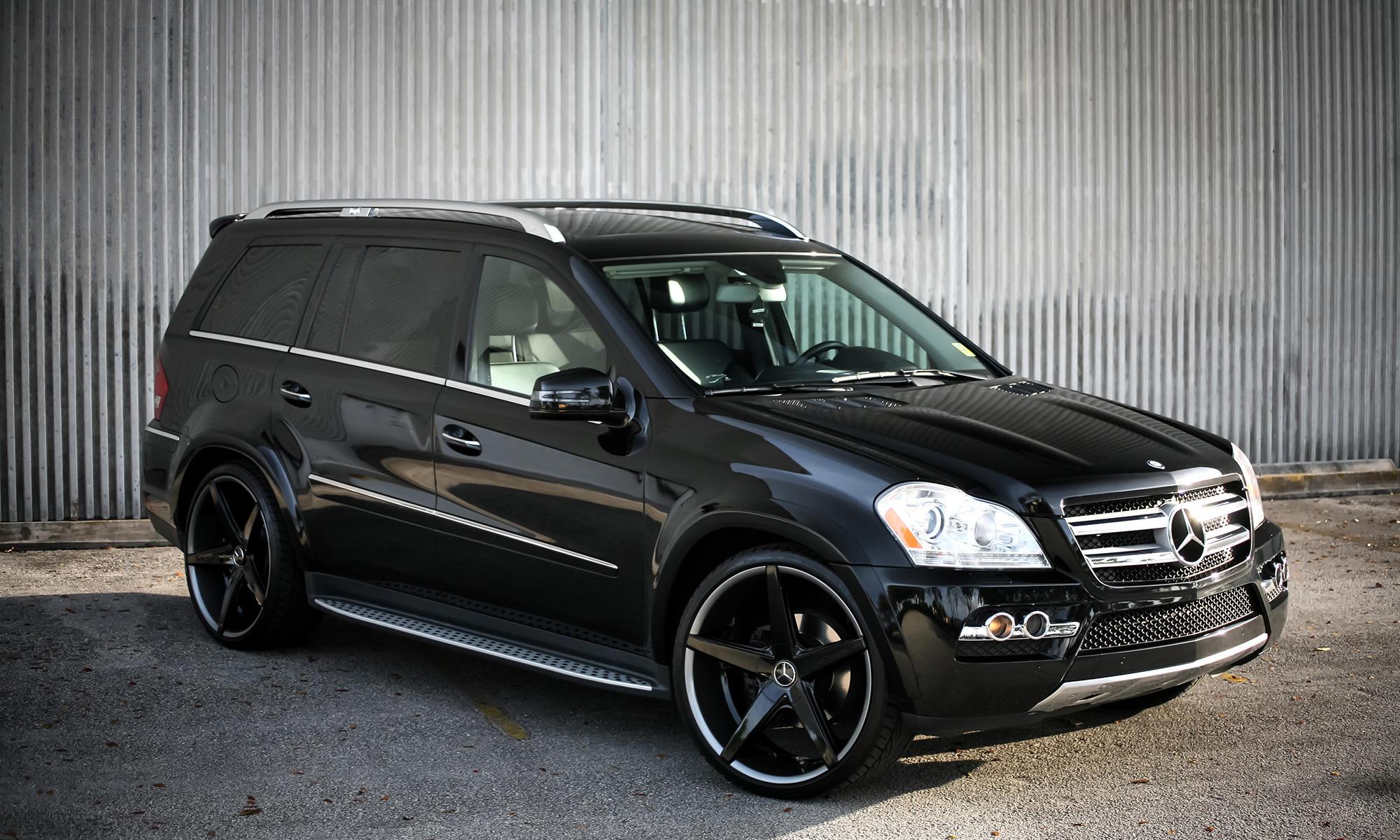 Lexani Luxury Wheels  Vehicle Gallery  Mercedes GL 450