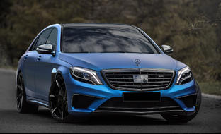 Mercedes S63 on CSS-7