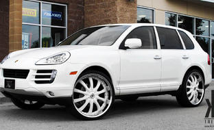 Porsche Cayenne sporting color matching LSS-10.