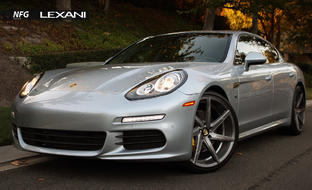 Porsche Panamera on CSS-7 Custom Finish