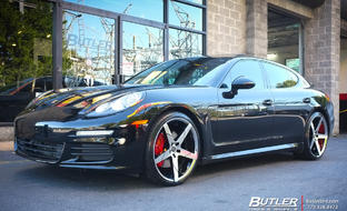 Porsche Panamera on Invictus-Z